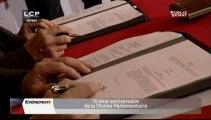EVENEMENT,Signature de la convention des chaînes parlementaires LCP et Public Sénat