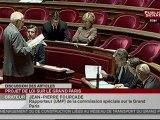 SEANCE,Séance - Projet de loi Grand Paris