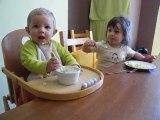 Premier repas de Mathieu tout seul