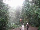 Saut de Tarzan au Costa Rica 2009