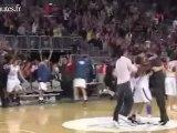 La pire fausse joie à la fin d'un match de basket
