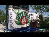 Grève chez Fralib à Géménos