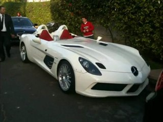 Maroc SLR Mercedes stirling moss in Morocco Maghreb