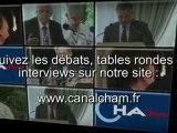 Interviews, débats, tables rondes CHAM