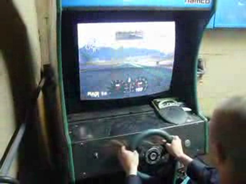 borne rave racer avec Forza