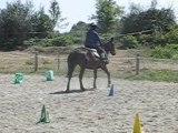 LAURIANE- EQUITATION WESTERN Cours d'équitation Elsa septembre 2010