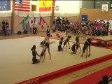 Gymnaestrada Rennes 2010 Algerie Team Gym CPB Rennes