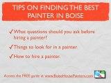 Boise house painters, Boise house painting contractors, Boi
