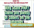 Simple PHP - Php News Script   Php Secure Login