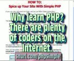 Simple PHP - Css Course | Php Ajax Framework