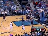 Dwight Howard spins and throws down the huge dunk.