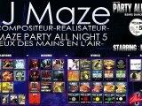 DJ MAZE Party all night 5: J'VEUX DES MAINS EN L'AIR