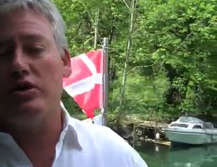 Nouveau bateau sur le lac du Bourget