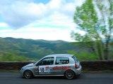 Rallye Lozère Es 5 Caméra embarquée Clio Rs Murat-Gres