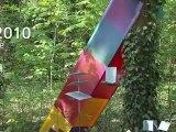 de-C créateur sculpteur, Sculptures en l'île 2010 - par FRAK