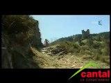 entrainement d'un jeune champion de VTT à Alleuze (Cantal)