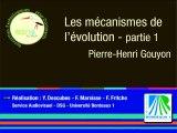 Pierre-Henri Gouyon : les mécanismes de l'évolution (1/2)