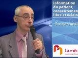L'information du patient, consentement libre et éclairé