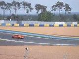 voitures de sport sur le circuit bugatti au mans. 7 05 2010