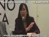 La senadora yeidckol polevnsky intervención en favor de cuba