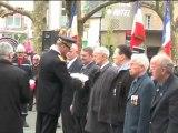 cérémonie du 8 mai 1945 à Avranches (50) - la cérémonie