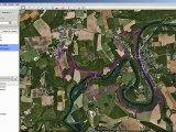 Convertir une randonnée GPX pour Google Maps ou Google Earth