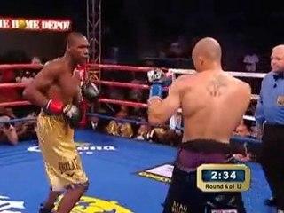 """Fin Ridicule Boxe """"Williams vs Cintron"""" HBO 2010"""