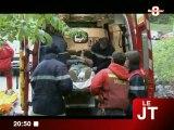 Spéléologie : Accident à la grotte de Balme (Magland)
