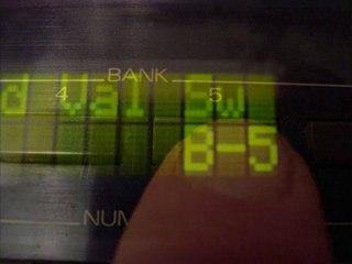 Roland D-20 diagnostic mode