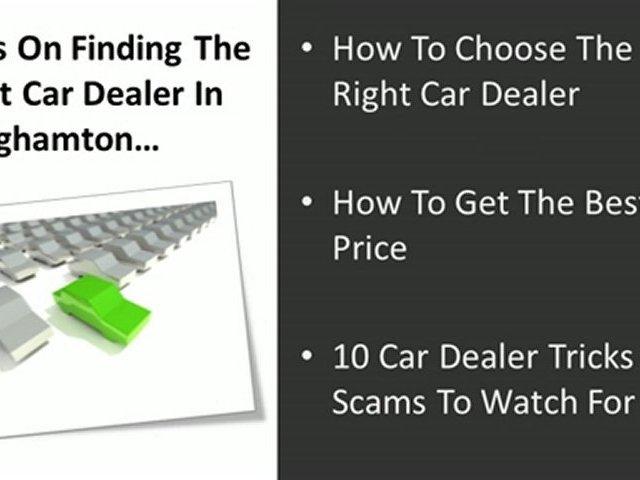 Car Dealerships Binghamton