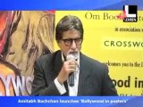 Big B At 'Bollywood In Posters' Launch