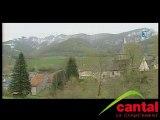 Glissement de terrain au Puy Mary (Cantal)