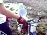 régis faceplant en moto