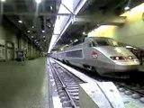 TGV en gare de Montparnasse!
