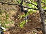 Course de VTT de descente DH à Monte Tamaro -1 et 2 mai 2010