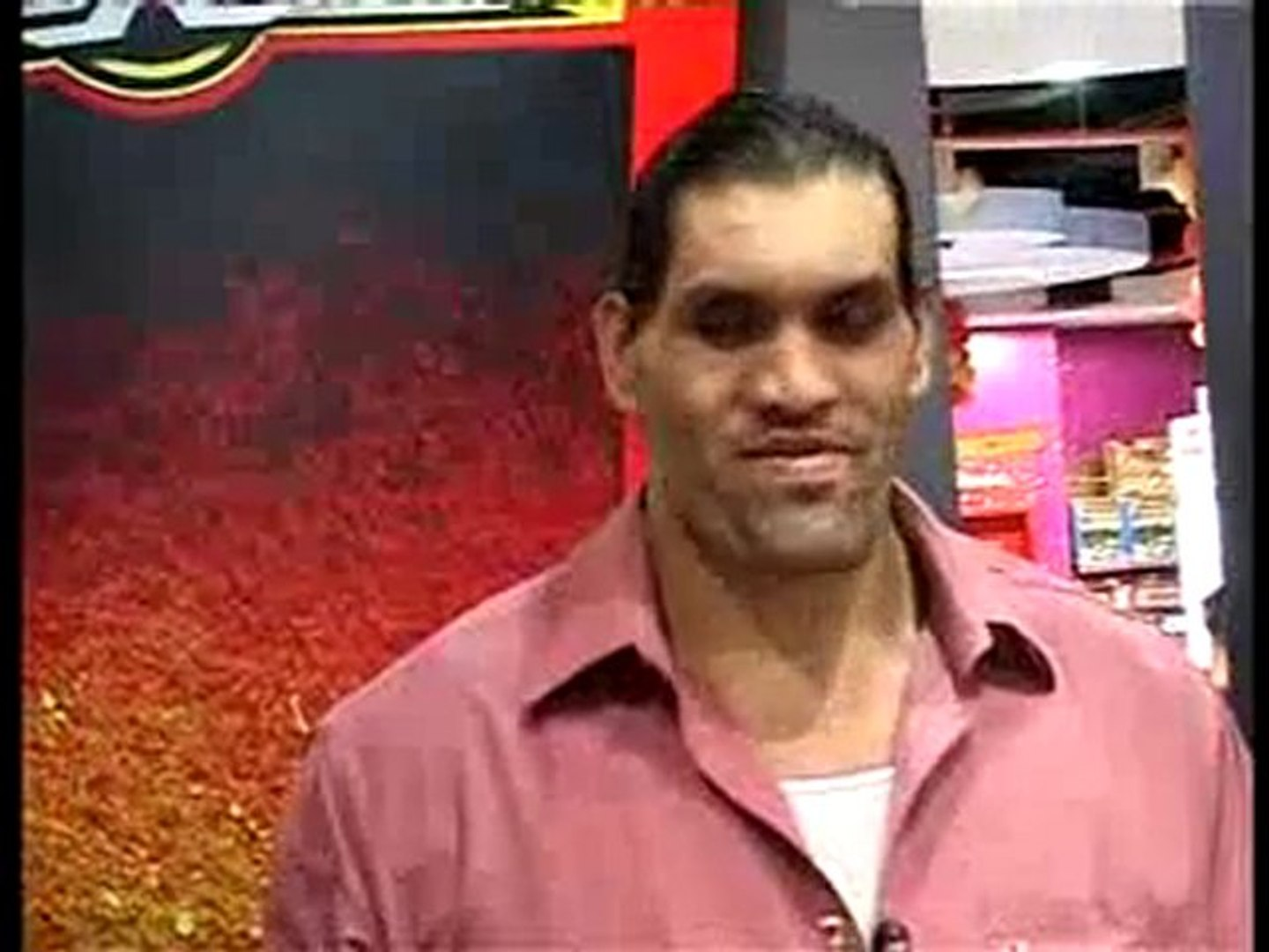 THE GREAT KHALI LAUNCHED WWE RANGE TOYS