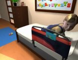 Child Falling Out Of Bed? Toddler Bed Rails