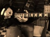 Jazzy Blues Backing Track jam with my gibson