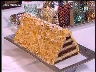Gateau pyramide au chocolat