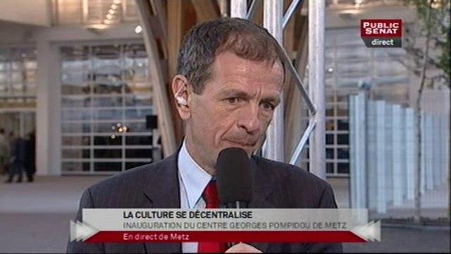 """EVENEMENT,Émission spéciale """"Inauguration du Centre Georges-Pompidou-Metz"""""""
