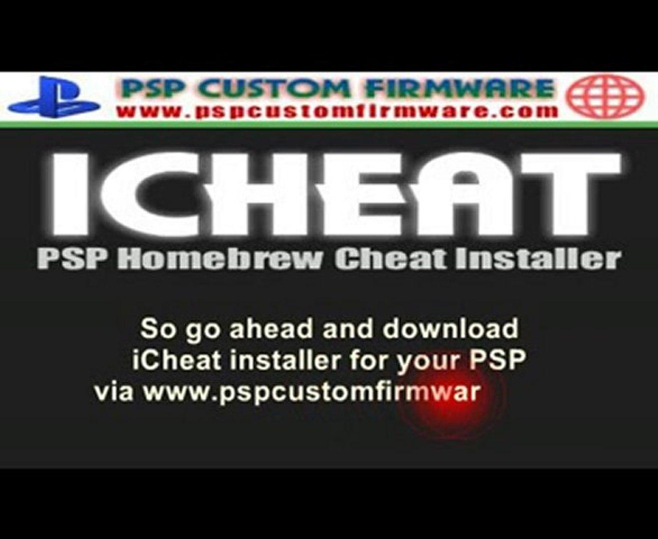 icheat | PSP Cheat Installer