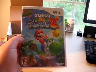 Super Mario Galaxy 2 - press kit unboxing