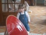 09-05-2010: Les touts premiers pas de Canelle...