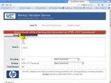 Quality WebSite HTML Validation w3c HTML Validator