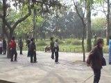 Temple du Ciel Beijing - Danse matinale