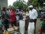 Asbl FONDAPAM , distribue les vivres aux veuves et orphelins