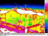THERMOGRAPHIE - Inertie thermique sur un bâtiment