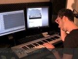 Rayan Desaintanger - making of French Kiss (studio session)