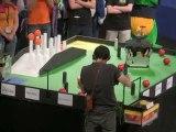 Eurobot 2010 8eme finale RCVA / TELECOM Robotics
