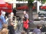 """""""les CHHS Blues"""" concert de rue à Thomery 16 mai 2010"""